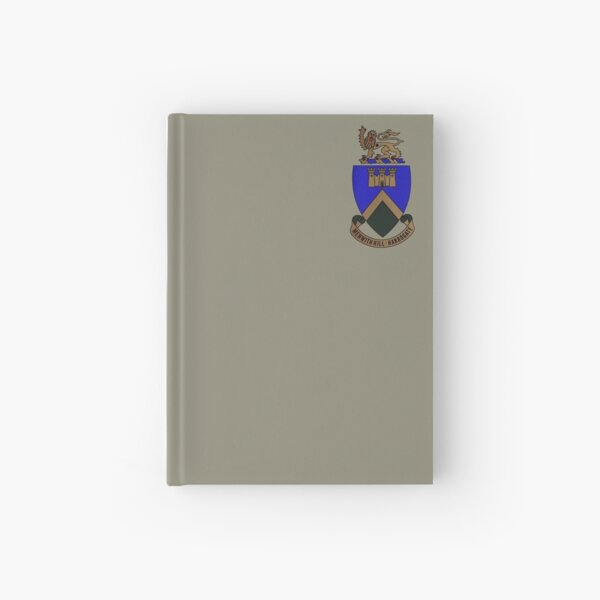 RAF Menwith Hill Crest Hardcover Journal