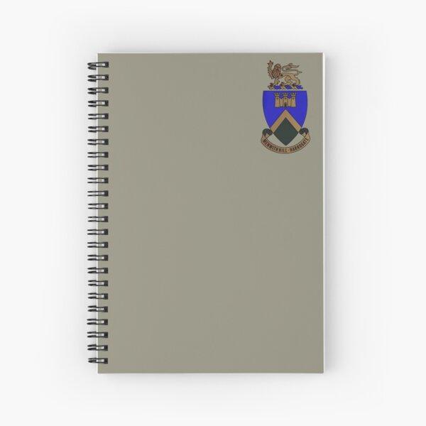 RAF Menwith Hill Crest Spiral Notebook