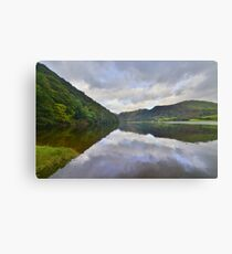 The Lake District: Brother's Water Reflections Canvas Print
