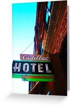 cadillac hotel by djohn