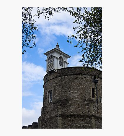 Top of the London Tower - Great Britain Photographic Print