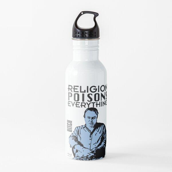 El enganche-religión envenena todo Botella de agua