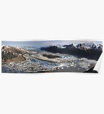 Lowell Glacier Poster