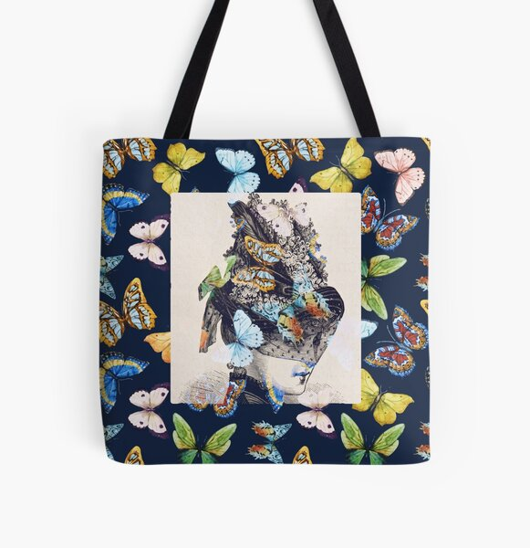 The Butterfly Collector All Over Print Tote Bag