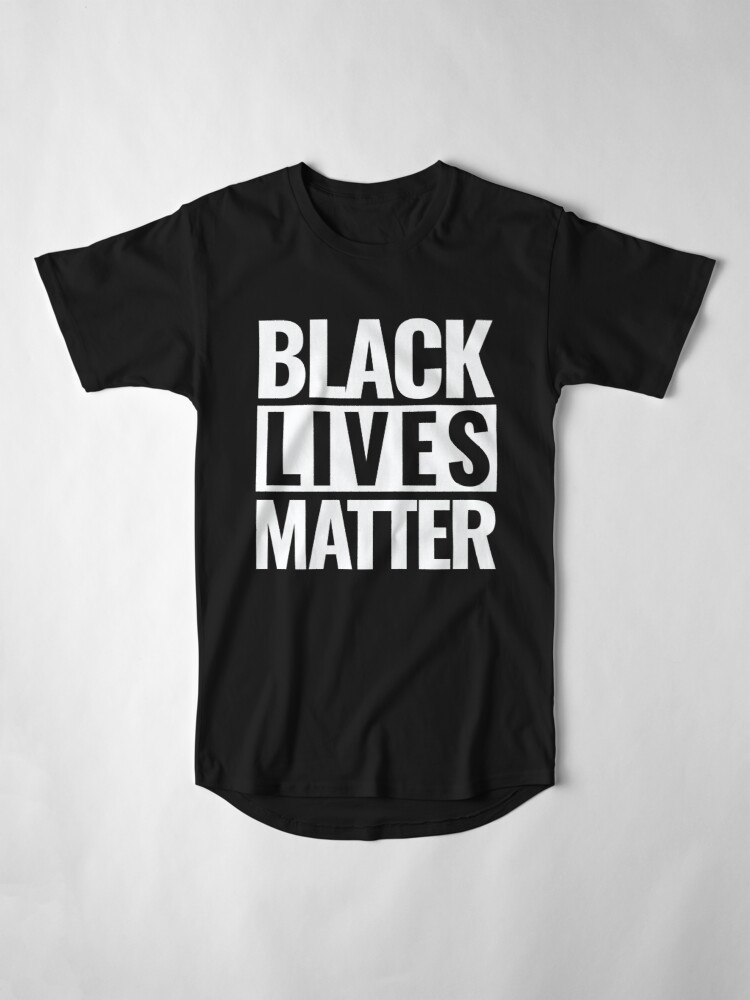 Alternate view of Black Lives Matter Long T-Shirt