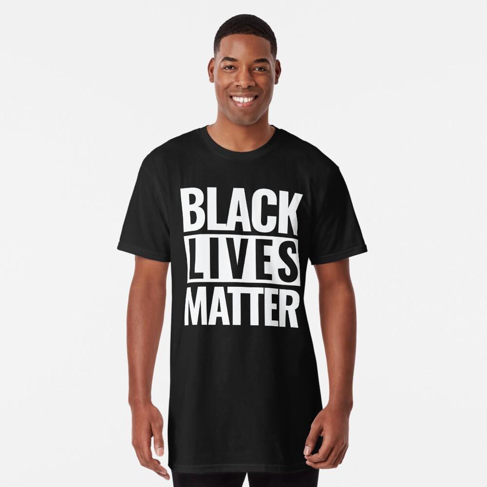 Black Lives Matter Long T-Shirt