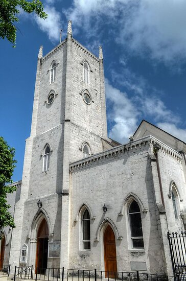 Christ Church Anglican Cathedral in Downtown Nassau, The Bahamas by Jeremy Lavender Photography