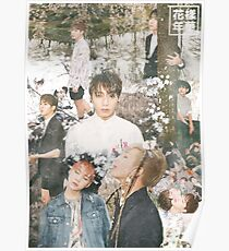 BTS/Bangtan Sonyeondan - The Most Beautiful Moment in Life Collage Pt1 Poster