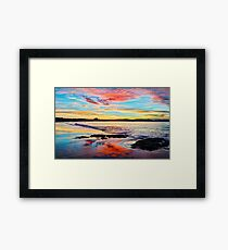 Reflections on a day gone by - Byron Bay Framed Print
