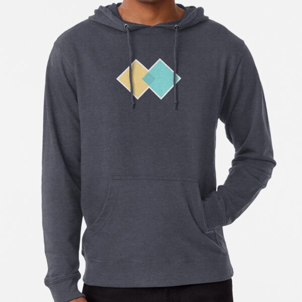 Double Diamond? Diverge and converge Lightweight Hoodie