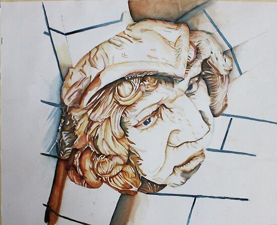 Ethelbert Keeping an Eye on Politicians by Christiane  Kingsley