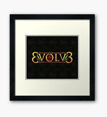 3volv3 HEAL Framed Print