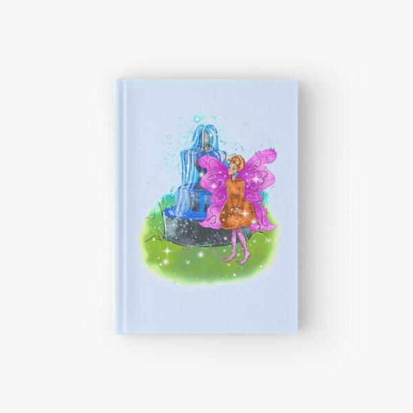 Fatunie The Birdbath and Fountain Fairy™ Hardcover Journal