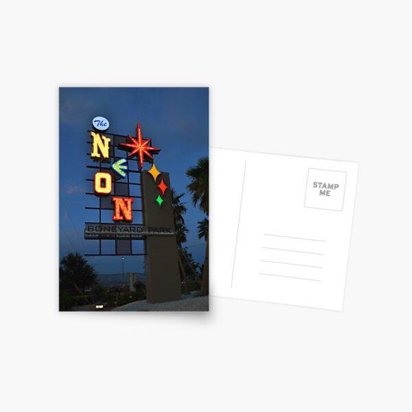 Neon Boneyard/Museum Postcard