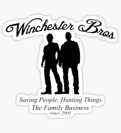 Winchester Bros - The Family Business Sticker