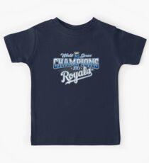 Royals champions Kids Tee