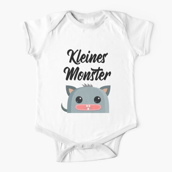 Little Monster Short Sleeve Baby One-Piece