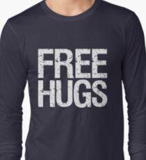 Free Hugs (White) Long Sleeve T-Shirt
