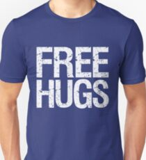 Free Hugs (White) Unisex T-Shirt