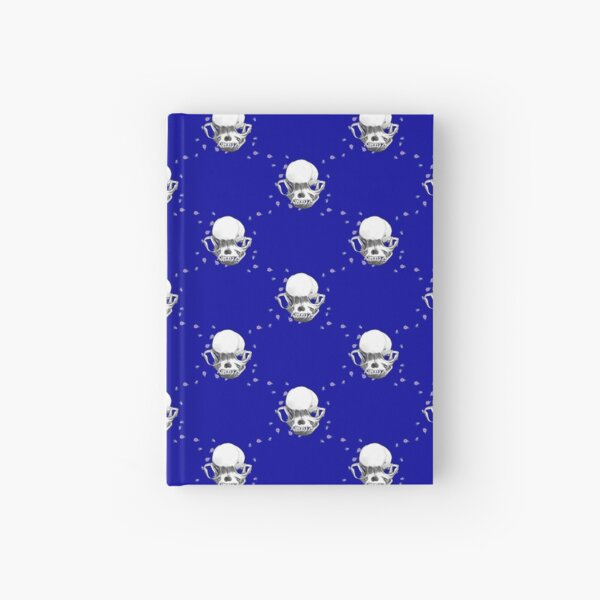 Pug Skull Hardcover Journal