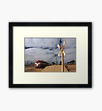Marree Railway Station Framed Print