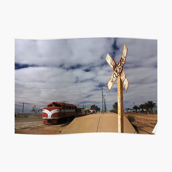 Marree Railway Station Poster