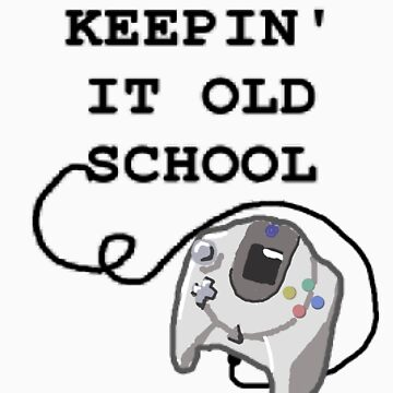 Keepin' It Old School - Dreamcast by Kyrannyx