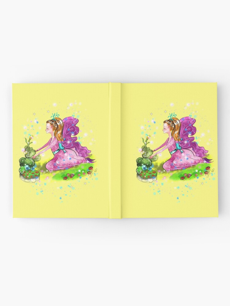 Alternate view of Qiana the Outdoor Gardening Fairy™ Hardcover Journal