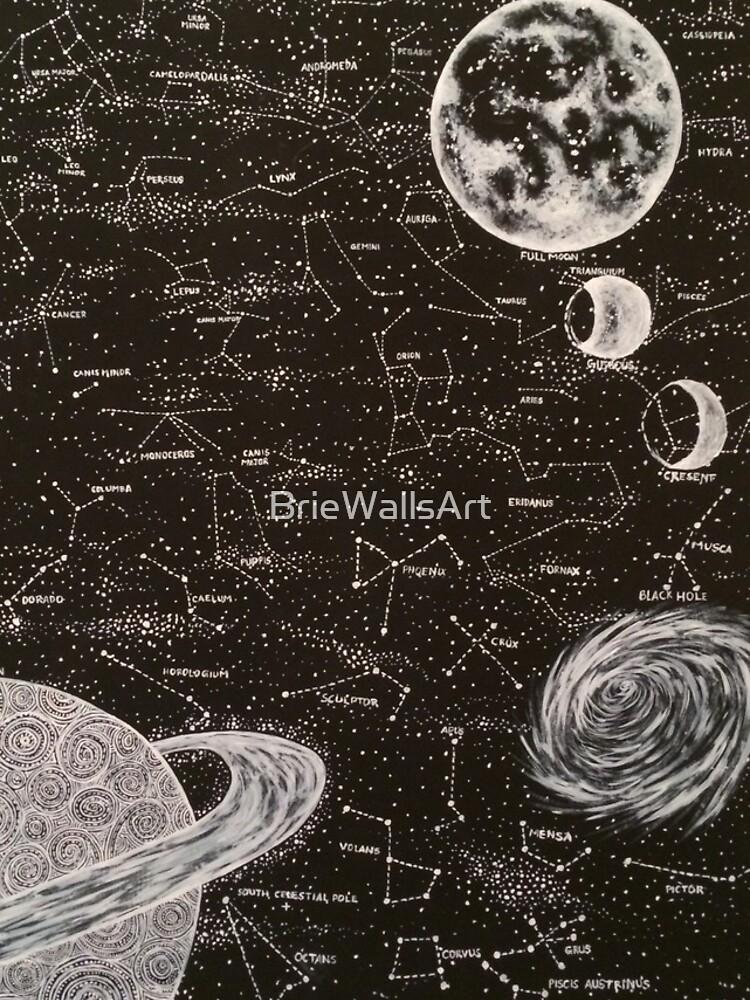 Space by BrieWallsArt