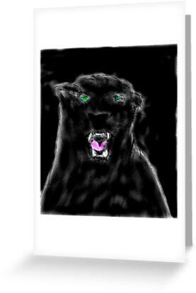 BLACK LEOPARD  by Semmaster