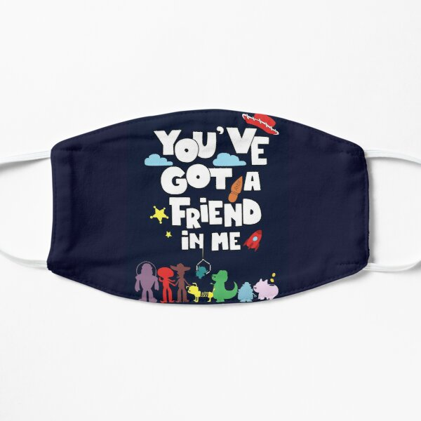 amazing gift the friendship it is Flat Mask