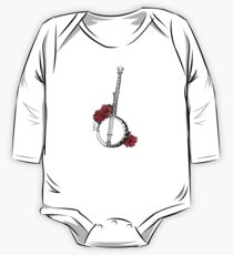 Hipster Banjo & Roses One Piece - Long Sleeve