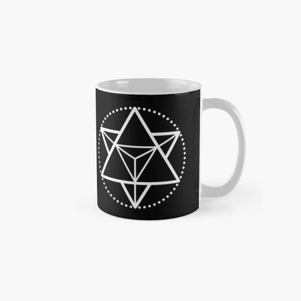 The Principle of Mentalism - White Startetrahedron / Mercaba Classic Mug