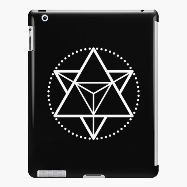 The Principle of Mentalism - White Startetrahedron / Mercaba iPad Snap Case