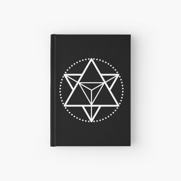 The Principle of Mentalism - White Startetrahedron / Mercaba Hardcover Journal
