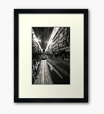 Reflection at the Hohestrasse Framed Print