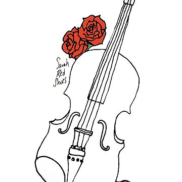Fiddle & Roses by SarahRedShoes