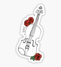 fiddle drawing stickers redbubble