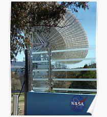 Deep Space Communication, Tidbinbilla, Australia  Poster