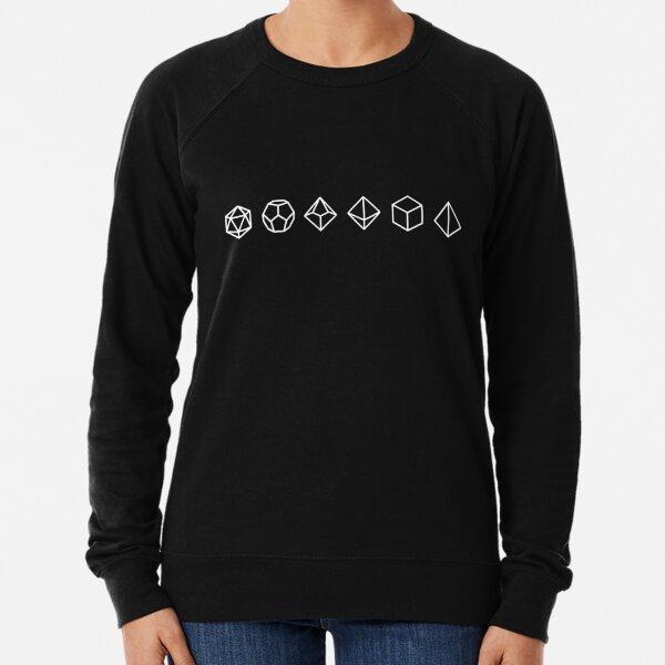 Dungeons and Dragons Dice  Lightweight Sweatshirt