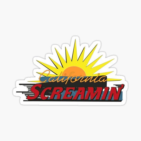 California Screamin Sticker