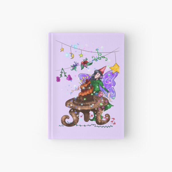 Parigold the Party Fairy™ Hardcover Journal