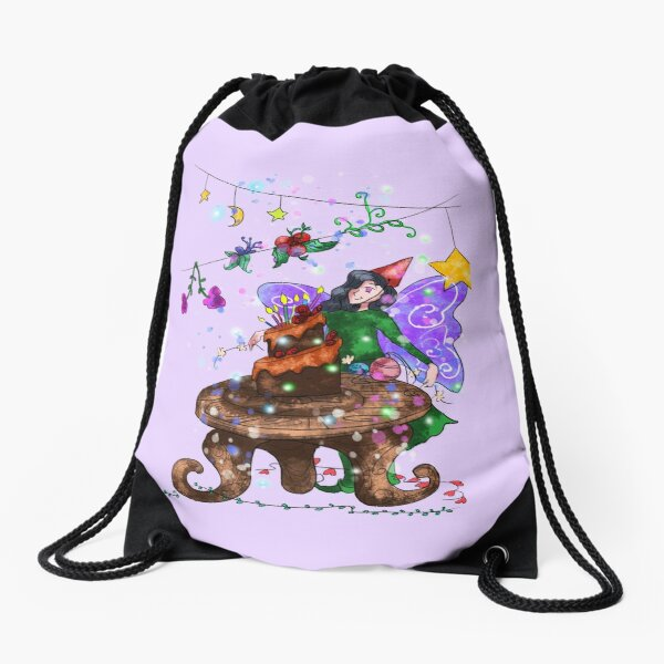 Parigold the Party Fairy™ Drawstring Bag