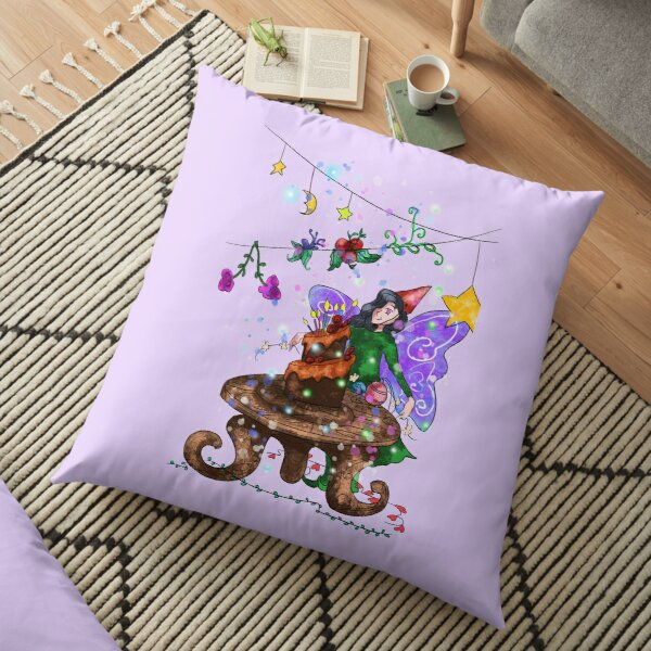 Parigold the Party Fairy™ Floor Pillow