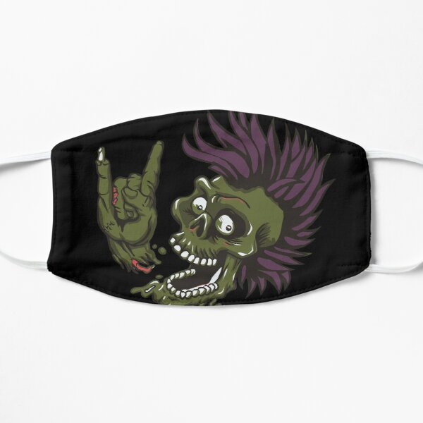 Zombie Metal Head Small Mask