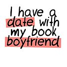 BOOK BOYFRIEND DATE by aimeereads