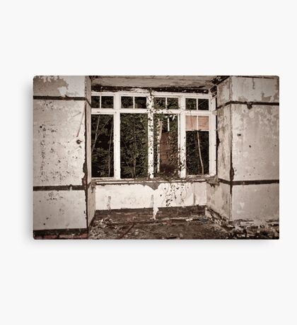 Clawdd Farm Interior Canvas Print