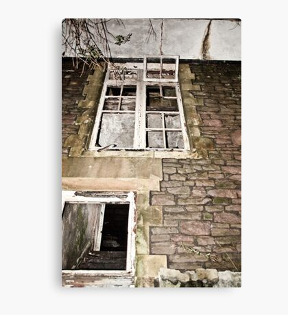 Clawdd Farm back door Canvas Print