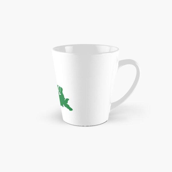 Louisiana Green Wave Sticker  Tall Mug