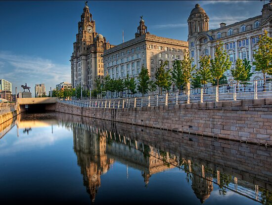 """The """"Three Graces"""" in Liverpool by NeilAlderney"""